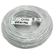 UPG 18-gauge, 2-conductor Striped Control White Cable, 500ft Speedbag