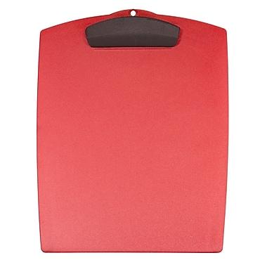 Storex Plastic Clipboard, Letter-Size,12.75