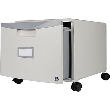 Storex Filing Cabinet, Hanging Files, Letter/Legal, Gray (STX61254U01C)