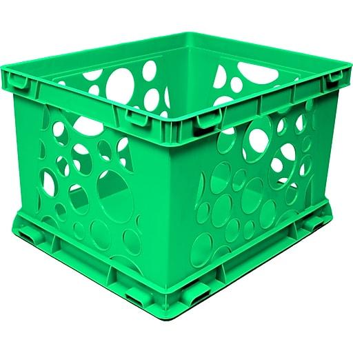Storex Large Storage and Transport File Crate, Letter/Legal (STX61556U01C)