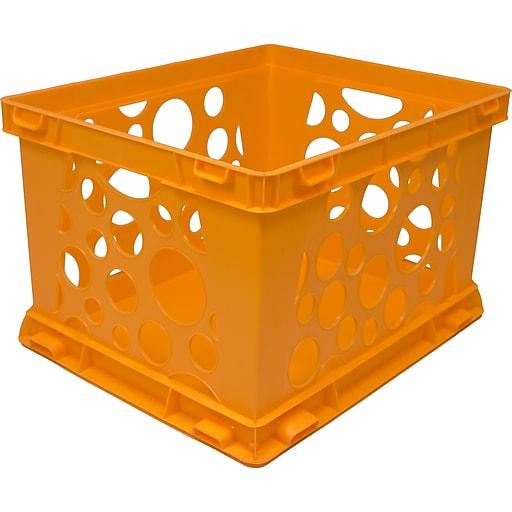 Storex Large Storage and Transport File Crate, Letter/Legal, 3/CT (STX61577U03C)