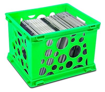 Storex Mini Crate, 24/CT (STX61586U24C) 2090933