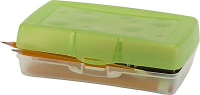 Storex Pencil Case, Assorted, 12/CT (STX61605U12C)