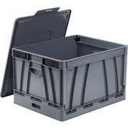 Storex Collapsible Crate, Letter/Legal, 2/CT (STX61810U02C)