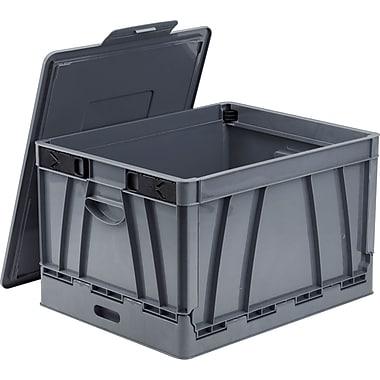 Storex Collapsible Crate, Letter/Legal Size, 4/Case (STX61810U04C)