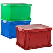 Storex Filing Cube, 3/CT (STX62001U03C)