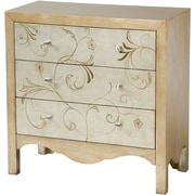 Stein World Shannon Accent Chest, Silver, Gold (12365)