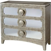 Stein World Carlton Accent Chest, Silvery (12407)