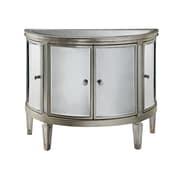 """Stein World Halton 32-5/8"""" Accent Chest Antique Silver/Mirrors (12518)"""
