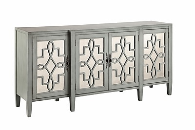 Stein World Lawrence Credenza, Slate Grey (13152)