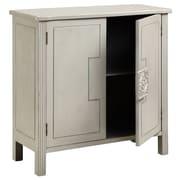"""Stein World Sophia 34.75"""" Accent Cabinet, Vintage White (13218)"""