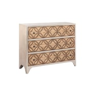 "Stein World Supta 34.25"" Accent Chest Champagne Finish (13380)"