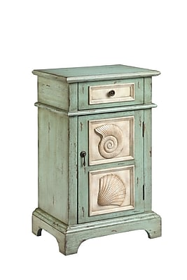 Stein World Hastings Wood Accent Table, Green, Each (13402)
