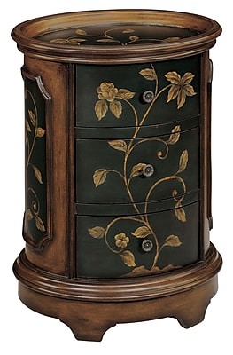 Stein World Ophelia Wood Accent Table, Brown, Each (42527)