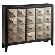"Stein World Swank 36.75"" Accent Chest Metallic Black, Pewter (47773)"