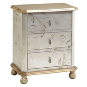 Stein World Celeste Accent Chest, Silver, Gold (64702)