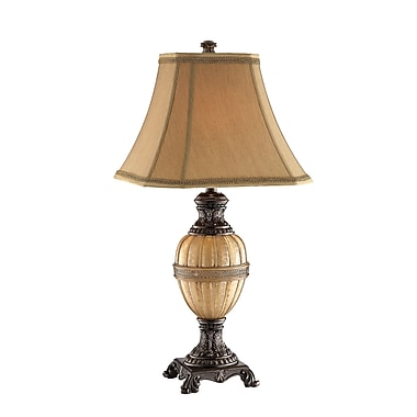 Stein World 150 Watt Krista Table Lamp, Honey Coffee, Gold (94701)