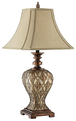Stein World 150 Watt Jaela Table Lamp, Gold, Silver, Coppery Metallic (98871)