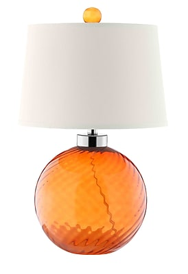 Stein World 100 Watt Sarano Tangerine Table Lamp, Tangerine (99589)