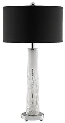 Stein World 60 Watt Elsa Table Lamp, Miller White, Metal (99749)
