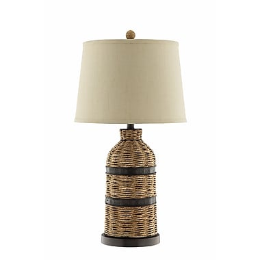 Panama Jack 150 Watt Caravel Table Lamp, Sea grass Brown (99768)