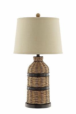 Panama Jack 150 Watt Caravel Table Lamp, Sea grass Brown (99768)
