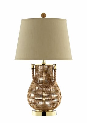 Panama Jack 150 Watt Felucca Table Lamp, Natural Sea grass (99769)