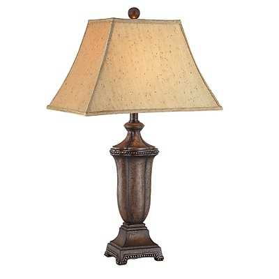 Stein World 60 Watt Maddox Table Lamp, Antique Walnut - Crackled (99787)