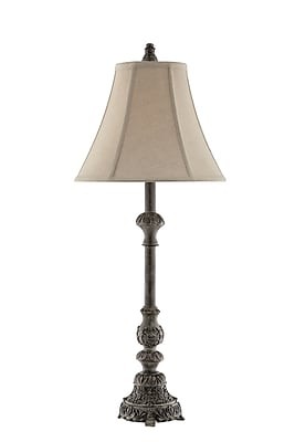 Stein World 100 Watt Adella Table Lamp, Weathered Grey (99799)