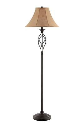 Stein World Gaston 150 Watt Floor Lamp, Rusted Bronze (99801)
