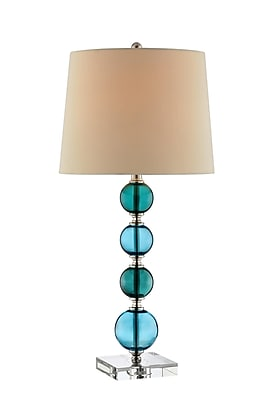 Stein World 150 Watt Arielle Table Lamp, Blue, Green (99803)