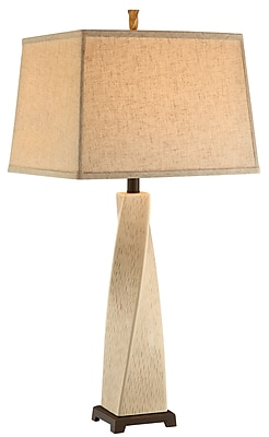 Stein World 150 Watt Winnifred Table Lamp, Oatmeal (99852)