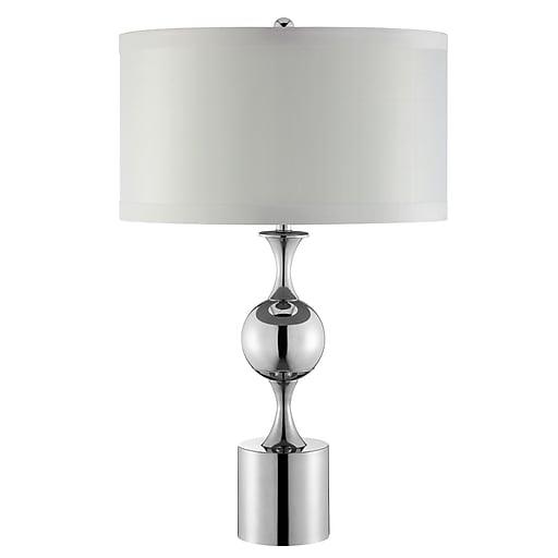 Stein World 100 Watt Winslow Table Lamp, Silver (99855)