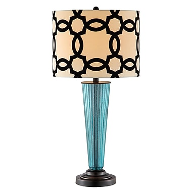 Stein World 150 Watt Teagan Table Lamp, Blue (99859)