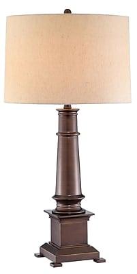Stein World 150 Watt Whitaker Table Lamp, Blue (99860)