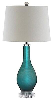 Stein World 100 Watt Balis Table Lamp, Sea Blue (99876)