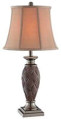 Stein World 100 Watt Telles Table Lamp, Brown (99880)