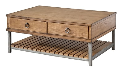 Stein World Beaumont Wood Coffee Table, Oak, Each (263-011)