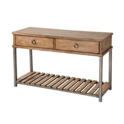 Stein World Beaumont Wood/Veneer Console Table, Oak, Each (263-031)