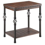 Stein World Sherwood Wood/Veneer End Table, Brown, Each (490-041)