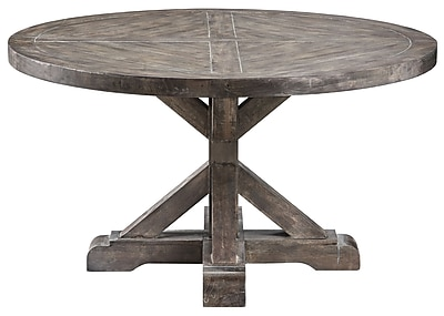 Stein World Bridgeport Wood Cocktail Table, Gray, Each (611-013)