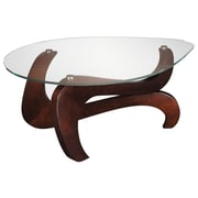 Stein World Nassau Wood Cocktail Table, Brown, Each (668-018)