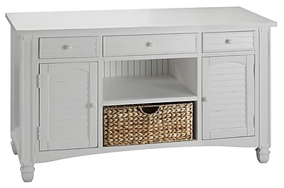 Stein World Nantucket Wood Console Table, White, Each (679-031)