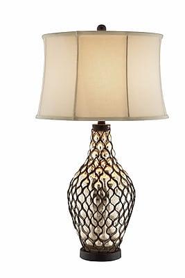 Stein World 150 Watt Sullivan Table Lamp, Antique Mirror (99757)