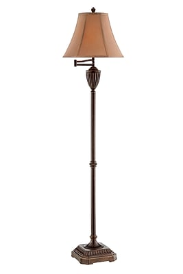 Stein World Roderick 100 Watt Floor Lamp, Bronze (99845)