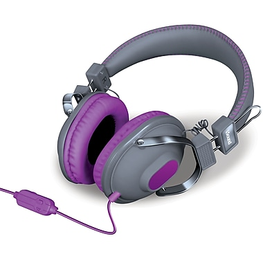 Dynamic Stereo Headphones with Inline Mic & Volume