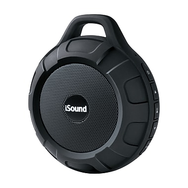 Water Resistant Bluetooth Speaker, Black