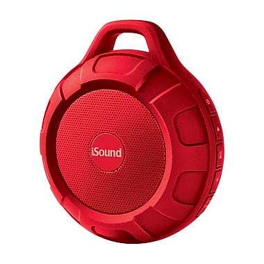Water Resistant Bluetooth Speaker, Red