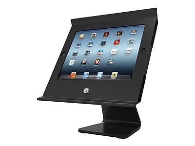 Compulocks 303B257POSB Slide Pro Steel POS Enclosure Kiosk for iPad Air, Black IM1YB3541