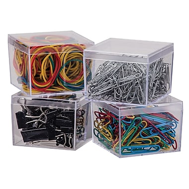Staples® Binder Clip, Paper Clip & Rubber Band Value Pack, 695/Pack